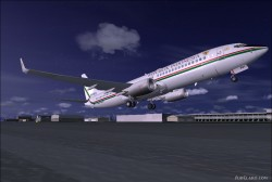 737-8U3 BBJ2 Republik Indonesia image 8
