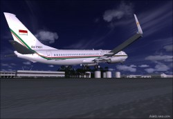 737-8U3 BBJ2 Republik Indonesia image 9