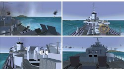 FS2004 Features Pilotable Destroyer HMS Lance image 1