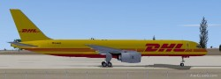 FSX DHL Boeing 757-236SF Repaint Posky image 1