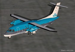 Fs2002 Klm Alps Dornier Do328 image 1