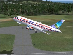 Dominican Airways A318 image 1
