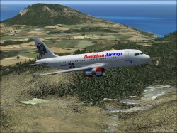 Dominican Airways A319 image 1