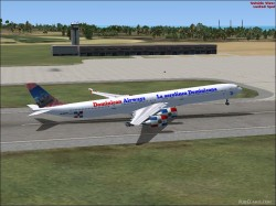 FSX Dominican Airways A340-600 image 1