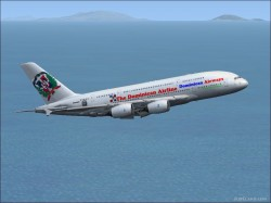 Dominican Airways Airbus A380 image 1