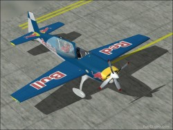 Fs2002 Extra 300l redbull Textures repaint image 1