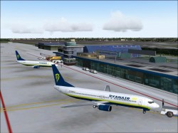 Fs2004 Scenery : Brussels South - Charleroi image 1