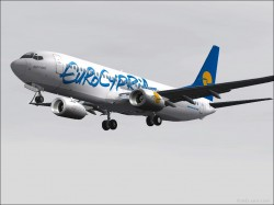 Eurocypria Boeing 737-800s Robbie Nelson image 1
