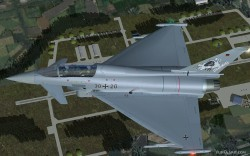 EUROFIGHTER fs2004 - German airforce Luftwaffe image 2