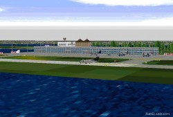 Fs98/ London City Airport Eglc With Europe image 1