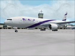 Fs2002 Aircrafts El Al 777-258er Pro Package image 1