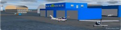 Fs2002 Add- Scenery Luxembourg Airport image 1