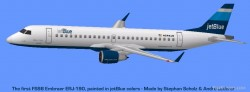 FS2004 FS98 Aircraft Embraer 190 jetBlue image 1