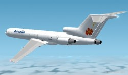 Fs2002 Aircraft Air Caledonie B727-200 Freighter image 1