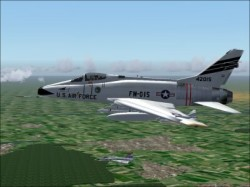 FS2004 F-100 42015 Soesterberg 32nd Wolfhounds image 2