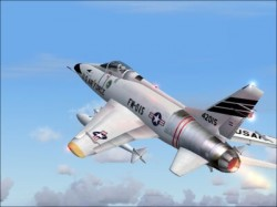 FS2004 F-100 42015 Soesterberg 32nd Wolfhounds image 3