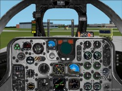 FS2004/2002 photorealistic panel fighter image 1