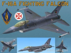 FS2004 General Dynamics F-16A Fighting Falcon image 1
