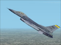 Fs2002 Aircraft - Lockheed F-16c New Mexico Ang image 1