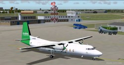 FS2004 and FS2002 Fokker F27-500 Channel image 1