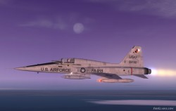 F-5 Freedom Fighter Desert Camo image 1