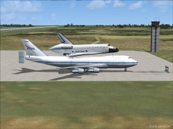 NASA SCA Shuttle Carrier Aircraft fully image 1
