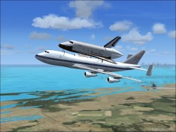 NASA SCA Shuttle Carrier Aircraft fully image 2