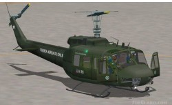 Chilean Air Force Bell Uh-1h image 1