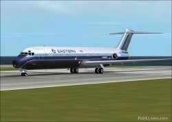 Fs2002 Aircraft-douglas Dc9-51 Eastern Aircraft image 1