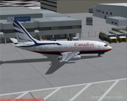 Ffx Canadian Proudwings 737-200 image 1