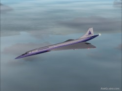 FS2004 Concorde Virgin atlantic pepsi image 1
