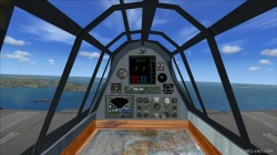 FSX/FS2004 panel Fairey Firefly image 1