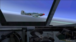 FSX/FS2004 panel Fairey Firefly image 2