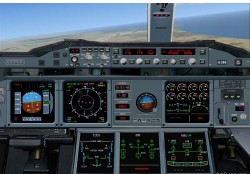 FS2004/FSX Airbus A380-Flying Hospital image 2