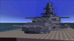 FS2004 Features Pilotable Battleship image 3