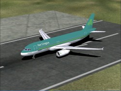 Fspainter Airbus A320 Aer Lingus Livery image 1