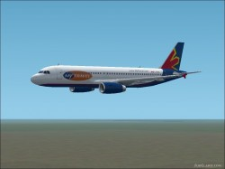 Fs2002 Airbus A320 Skyservice image 1