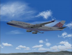 Boeing 747-400 China Airlines Livery image 1