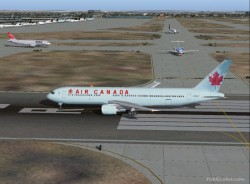 Boeing 767-300 Air Canadas new livery; image 1