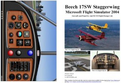 FS2004 Manual/Checklist Beech 17 Staggerwing image 1