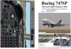 Fs2004 Manual/checklist Boeing 747sp image 1