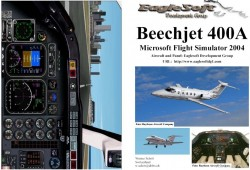 Fs2004 manual/checklist raytheon beechjet 400a image 1