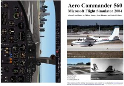 Fs2004 Manual/checklist Aero Commander 560 image 1