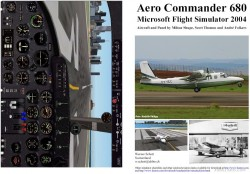 Fs2004 Manual/checklist Aero Commander 680 image 1
