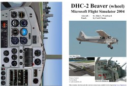 FS2004 Manual/Checklist De Havilland DHC-2 image 1