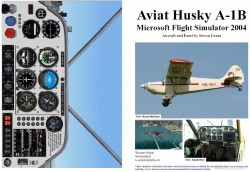 Fs2004 Manual/checklist Aviat Husky A-1b image 1