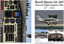 FS2004 Manual/Checklist Beech Queen Air A65 image 1