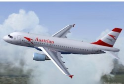 FS2004 Austrian Airlines Airbus A319 image 1