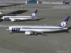 Fspainter Boeing 767-200/300 Lot Polish Airlines image 1