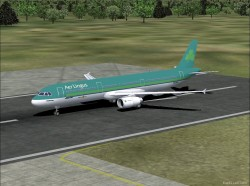 Fspainter Airbus A321 Aer Lingus Livery image 1
